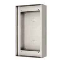 Aiphone surface mounting box complete with hood for 2 gt for Door zone module