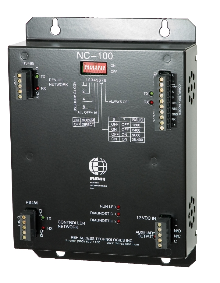 Zone Technology Rbh Network Controller Industrial