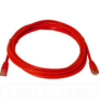 Patch Lead Cat5e Red - 0.25m